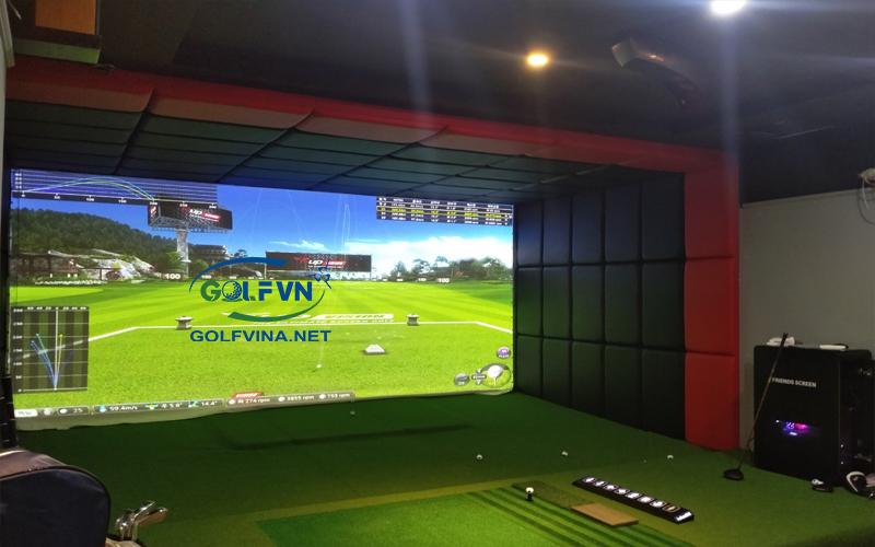 thi công golf 3D