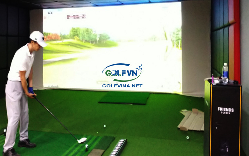 lắp đặt phòng golf 3d tại hải phòng