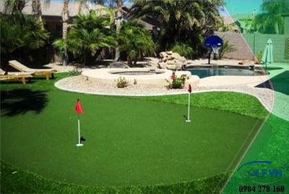 thi công golf mini