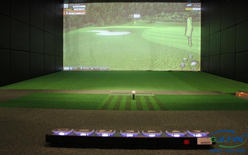 lắp đặt phòng tập golf 3d trong nhà