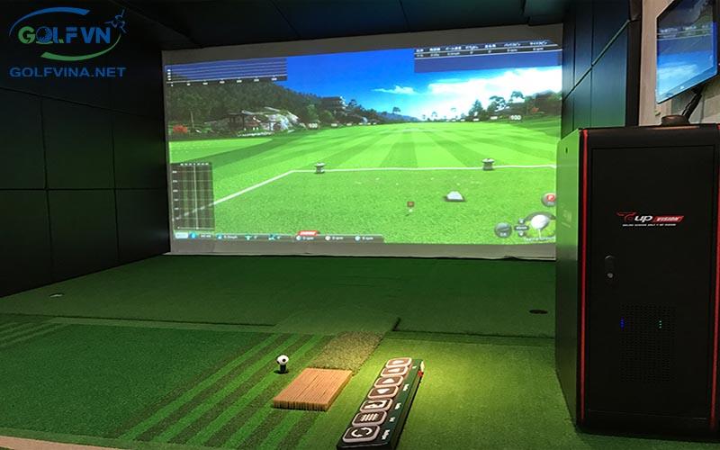 phòng tập golf 3d trong nhà