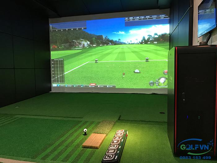 thi cong golf 3d