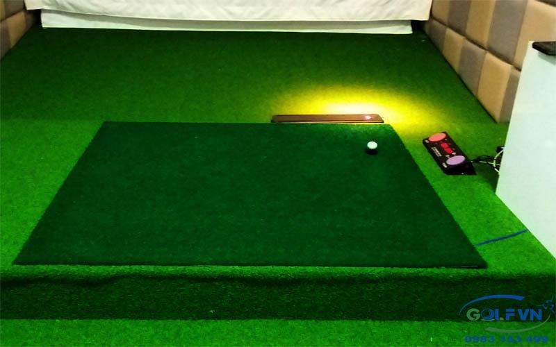 Lắp cỏ nhân tạo cho phòng golf 3d