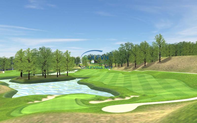 green đường golf