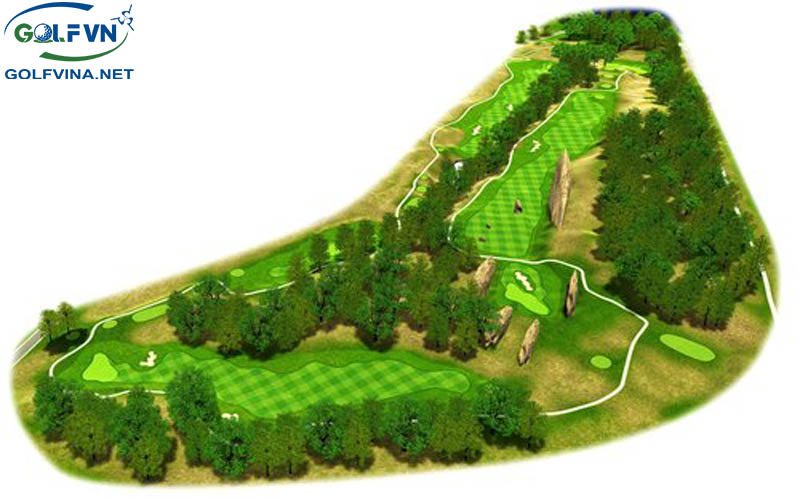 Thiết kế sân golf 9 lỗ