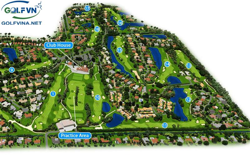 bản vẽ thiết kế sân golf
