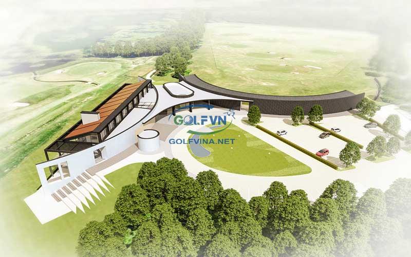 Thiết kế sân tập golf Thiết kế sân golf mini